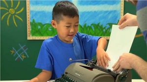 How would Kids React to a Typewriter?