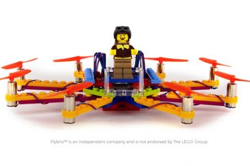 Build LEGO Drone for Kids with Flybrix Kit