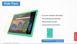 Lenovo Launches Affordable Tablets for Kids and Families