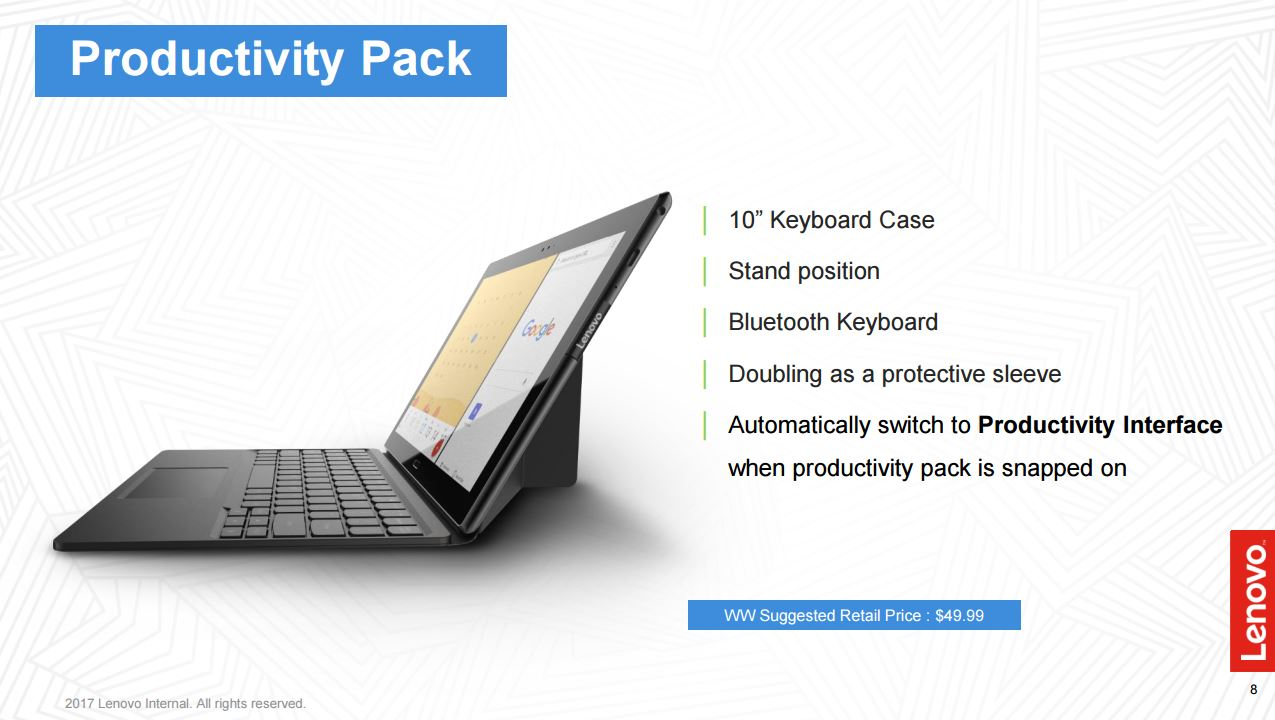 Lenovo Tab Productivity Pack